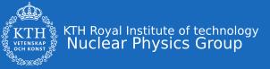 KTH Nuclear Physics logo
